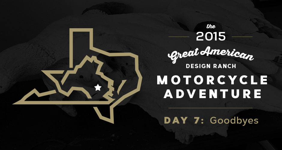 Design Ranch Moto Adventure: Day 7